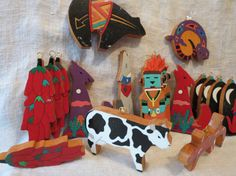 Galeria La Montaña Hand Made in Guatemala Wooden by cloud9eclectic