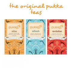 Ayurvedic Herbal Tea Pack - Pukka Herbs incredible organic herbs