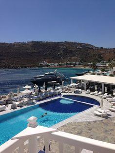 View from my room! Petasos Beach Resort - Mykonos