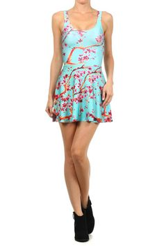 AZ Iced Tea Skater Dress | POPRAGEOUS