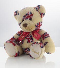 Union Jack Harrods bear