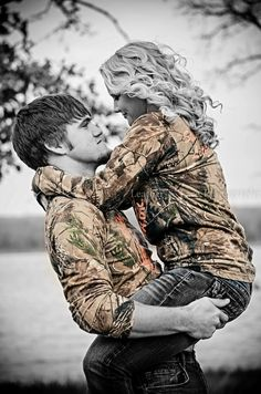 i love this type of photography bclk nd white and show off the camo