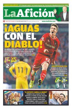 Portada La Afición Monterrey 06/12/13: ¡Aguas con el Diablo!