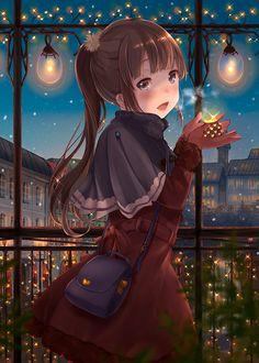 Art Anime Fille, Manga Anime Girl, Anime Girl Drawings, Anime Girl Cute, Anime Neko, Kawaii Anime Girl, Anime Girls, Image Nature, Kawaii Chibi