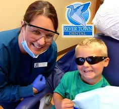 Calvin had a great Kindergarten check-up with our dental hygienist, Kelly! Your child's comfort & safety are our number one priority. Each member of our team is dedicated to your positive experience here in our office. Remember to schedule your children for their own Kindergarten check ups. (608) 788-0030 rivertowndentalonline.com ‪#‎smile‬ ‪#‎HealthyTeeth‬ ‪#‎dentist‬