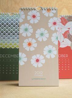 Pinkerton Design Wall + Desk Calendar