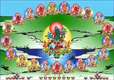 Las Gloriosas 21 Taras Om Tare Tuttare Ture Soha... Thuk Je Che Tibet