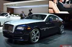 Rolls-Royce launched the Wraith in the Geneva Motor Show on March 5. Description from richglare.com. I searched for this on bing.com/images