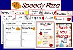 Pizza delivery role-play pack (SB490) - SparkleBox