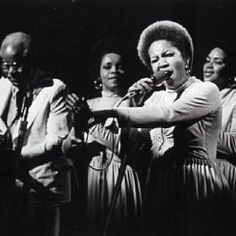 "The Staple Singers were an American gospel, soul, and R&B singing group. Roebuck ""Pops"" Staples the patriarch of the family, formed the group wi. Music Icon, Soul Music, My Music, Music Genre, Music Radio, The Staple Singers, Mavis Staples, Old School Music, Soul Singers"