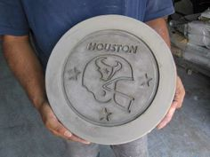 LetterBank DIY concrete molding and casting forms.  Custom sports and Team molds available, starting at $129 and up.  Price is for one rubber casting mold, which is reusable.
