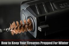 """Prepper Tip - Did you know that metal tends to """"sweat"""" with a change in temperature? In order to take good care of your firearms, make sure you do this maintenance once a week."""