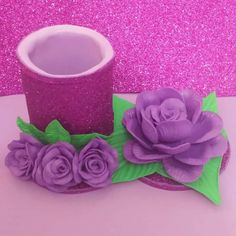 Foam Crafts, Diy And Crafts, Twine Flowers, Jute Twine, Bottle Crafts, Creative Gifts, Flower Vases, Planter Pots, Alice