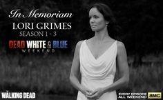 DEAD, WHITE  BLUE - July 4th 2014 TWD weekend marathon - In Memoriam LORI