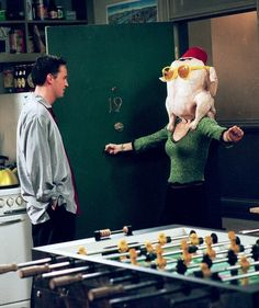 Chandler & Monica - Thanksgiving F. R. I. E. N. D. S