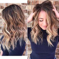 Schöne Blonde Balayage Haar Farbe Ideen