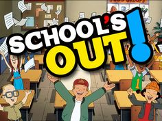 schools out!!!! School's Out For Summer, Summer Jobs, Summer Fun, Pink Summer, Summer Ideas, Summer Activities For Kids, Hands On Activities, Prime Movies, Last Day Of School