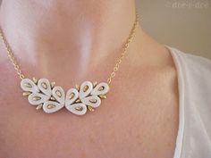 doe-c-doe: earring necklace