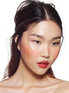 52 Trendy Ideas For Makeup Asian Monolid Red Lips - Lippen Make-Up Makeup Trends, Eyebrow Trends, Makeup Inspo, Makeup Inspiration, Makeup Ideas, Eye Makeup, Hair Makeup, Makeup Case, Skin Treatments