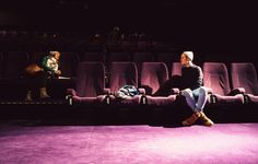 """Dienstag, 03.02., 14:47 Uhr – Prenzlauer Berg, Kino in der Kulturbrauerei: Für eine gute Interview- und Shootingatmo schleichen wir uns für """"im gegenteil"""" auch schon einmal in einen Kinosaal. © Nadine Kunath"""