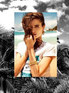 Photoshoot: Loulou Robert for Juicy Couture Summer 2013 Best Swimwear, Trendy Swimwear, Kids Swimwear, Swimwear Brands, Swimwear Fashion, Bikini Fashion, Loulou Robert, Diesel, Paris Match