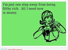 Being Filthy Rich - Quotes About Money - http://myquoteshome.com/being-filthy-rich-quotes-about-money/
