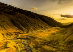 Moffat Water Valley The Highlands aren't the only part of Scotland where you'll find elevation. This valley in the Southern Uplands is home to the 60m (200ft) Grey Mare's Tail Waterfall.