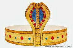 Manualidades adornos para disfraz egipcio   Máscaras de Carnaval