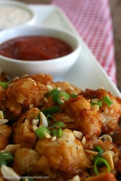 Sweet and Spicy Veggie Wings