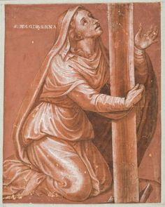 Magdalena al peu de la Creu Juan de Juanes S.XVI