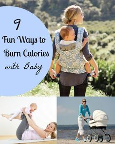 9 Fun Ways To Burn Calories With Your Baby
