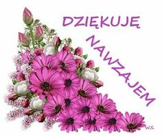 Podziękowanie Diy And Crafts, Floral Wreath, Flowers, Pictures, Smileys, Polish Sayings, Humor, Album, Makeup
