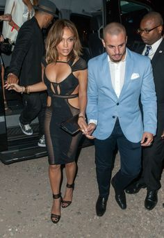 Jennifer Lopez's 46th birthday party