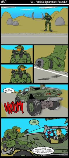 Another Halo Comic Strip Fallout Wallpaper, Halo Funny, 343 Industries, Halo Master Chief, Halo Collection, Tg Tf, Pokemon, Red Vs Blue, Funny Stuff