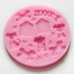 New Dog Bone Kennel Fondant Sugarcraft Chocolate Candy Soap Silicone Baking Mold Generic http://www.amazon.com/dp/B00NLVPL1I/ref=cm_sw_r_pi_dp_FGJiub0FQ5QA9