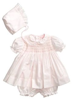 aaa972ddf Feltman Brothers Baby Girls 3-9 Months Pintuck and Lace Dress ...
