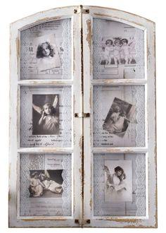 """Bilderrahmen """"Antikes Fenster"""", Home Collection, antikweiß"""