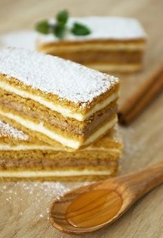Sweet Sensation: Medena pita (Honey Cake) Hands down my favourite Croatian cake Baking Recipes, Cake Recipes, Dessert Recipes, Croation Recipes, Croatian Cuisine, Musaka, Macedonian Food, Kolaci I Torte, Gateaux Cake