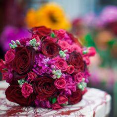 Hot Pink & Red Wedding Bouquet Ideas | Bernardo's Flowers Inc.