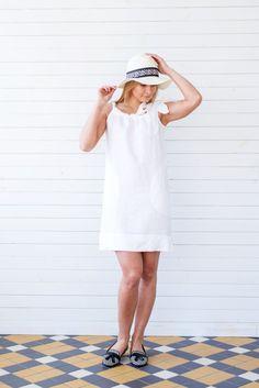 Linen dress Linen summer dress White flax summer tunic by LINENSY Summer  Tunics d32e73e96bf
