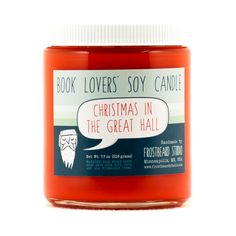 Christmas in the Great Hall  Soy Candle  Book door Frostbeard
