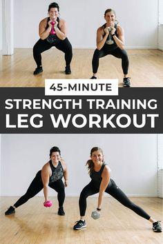 Strength Training Leg Workout