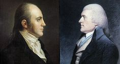 Thomas Jefferson, Aaron Burr, and the election of 1800 - from the Smithsonian