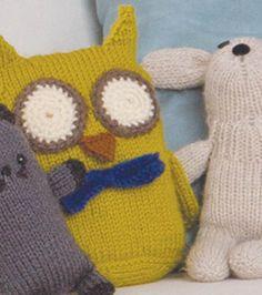 Knit Wise Owl Toy ~ Free Pattern