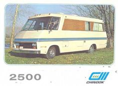 1973 Chinook 2500 Vista, the last Class A RV built by the Chinook Mobilodge Company