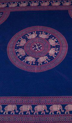 Этническое покрывало из хлопка со слоном, хлопковое индийское покрывало, покрывало из Индии, интерьер в этническом стиле, ethno bedcover with elephant, indian coverlid,  cover India, ethnic interior. 1840 рублей