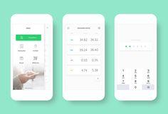Mobile Banking App on Behance