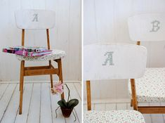Claim your rightful throne by monogramming your chair of choice.