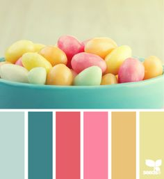 easter hues color palette from Design Seeds Colour Pallette, Color Palate, Colour Schemes, Color Patterns, Color Combinations, Pantone, Design Seeds, Pink Design, Colour Board