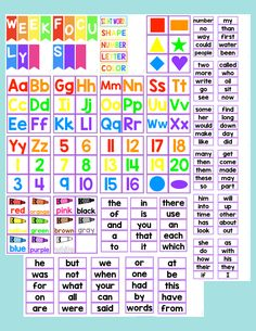 Preschool at home - daily board Day, Weather, Letter & Number | Kid ...